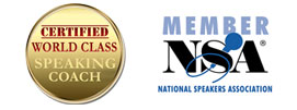 National Speakers Association / Certified World Class Speaking Coach