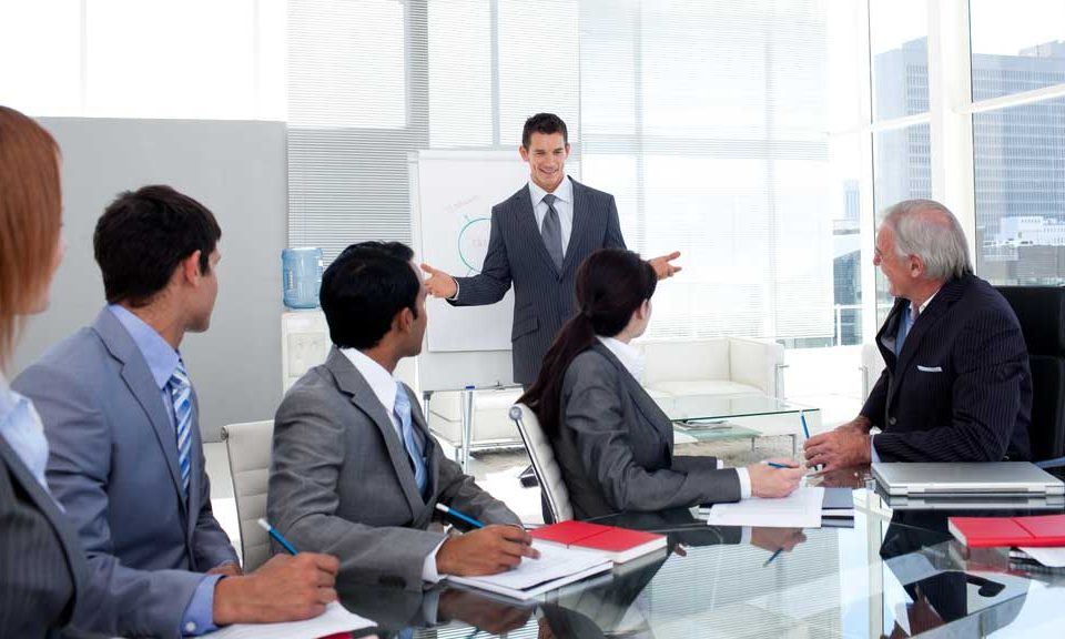 How to give a sales presentation
