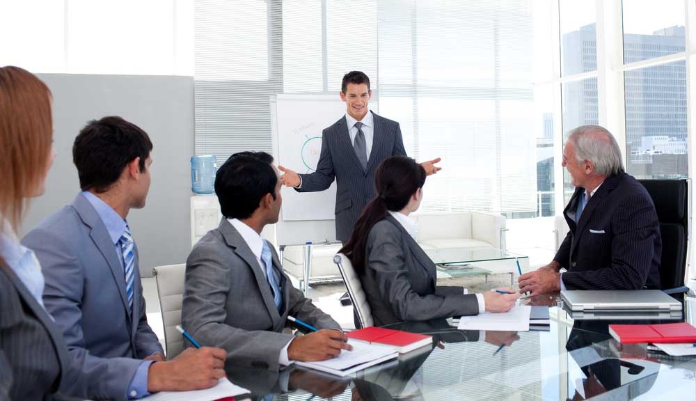How to give a sales presentation stories